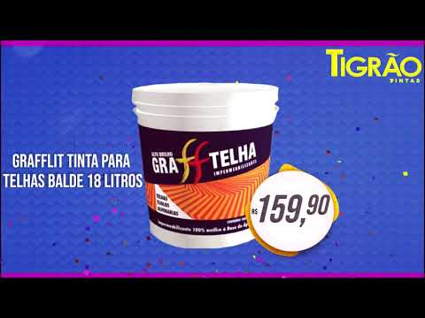 Feirão Casa & Cor da Tigrão Tintas com descontos de até 50% aproveite - Cidade Portal