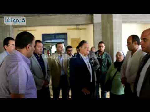 بالفيديو : وزير الصحة يتفقد أعمال التطوير بمستشفى البياضية والمستشفي العام
