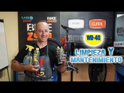 WD-40 BIKE todo lo que necesitas para mantener y cuidar tu bicicleta