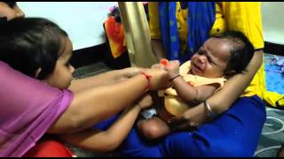 Phoolo Ka Taaro Ka Sabka Kehna Hai (Raksha Bandhan Celebration  By Girl And  Baby)