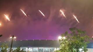 Heboh ... firework Closing Ceremony ASIAN GAMES 2018 GBK .... SUKSES....