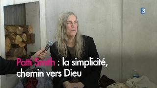 Patti Smith : la simplicité, chemin vers Dieu
