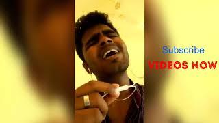 A voice of millions - Singer Gowtham Velu sings unale en jeevan from Theri | subscribe VideosnowYT