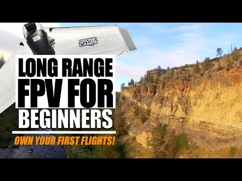 Long Range Fpv for Beginners - $100 Wing, 20 Min Flights, 3 Miles, and Setup Tips