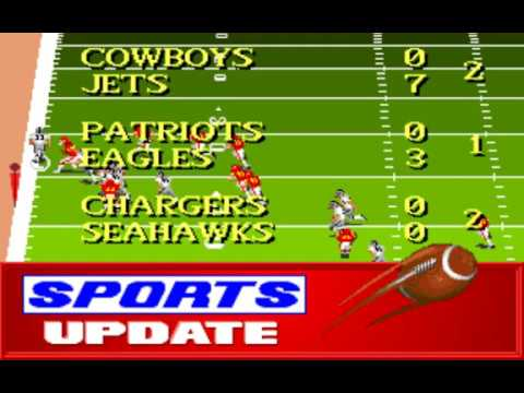 NFL Football (Week 8: Raiders - Chiefs) (Distinctive Software) (MS-DOS) [1992] [PC Longplay]