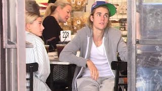 Justin Bieber And Hailey Baldwin Brunch With A Baby On Board