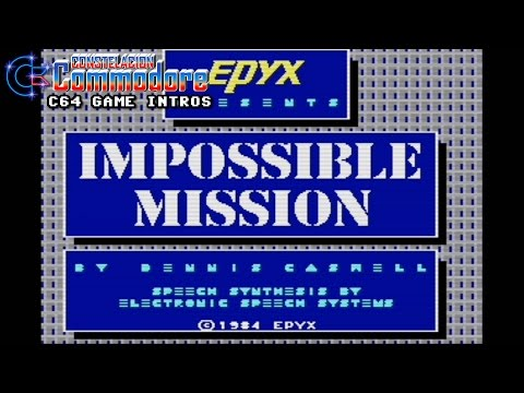 C64 Game Intro: Impossible Mission (Epyx,1984)