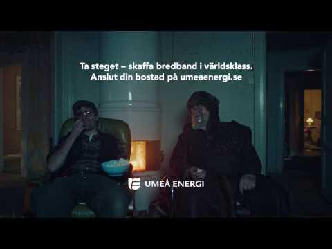 Umeå Energi - Bredband i världsklass - Reklamfilm Dolf och Järven - 20s