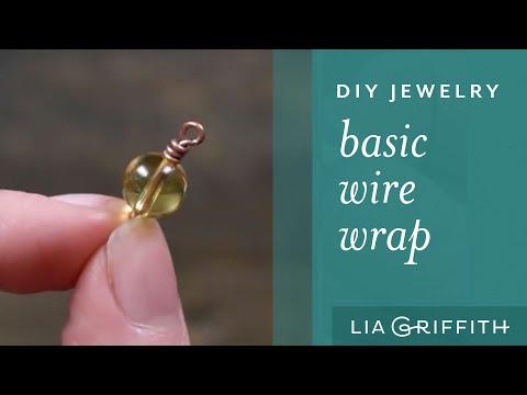 DIY Basic Wire Wrap for Jewelry