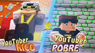YOUTUBER RICO X YOUTUBER POBRE ft SR PEDRO - MINECRAFT MACHINIMA