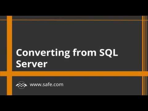 Converting From SQL Server