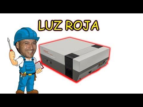 REPARACION LUZ ROJA PARPADEO NES + REGION FREE
