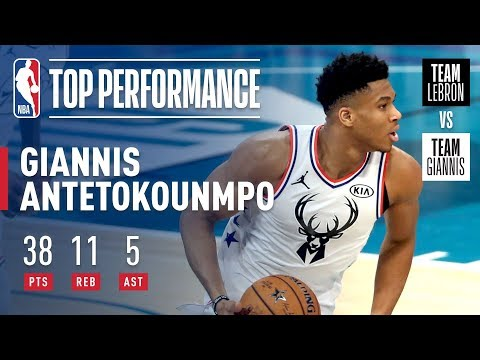 Giannis Puts On Historic All-Star Performance In Charlotte   2019 NBA All-Star