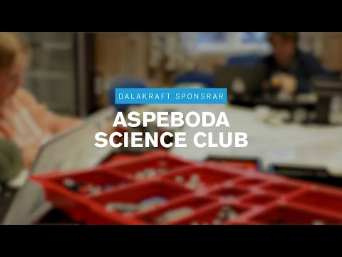 Dalakraft sponsrar Aspeboda Science Club