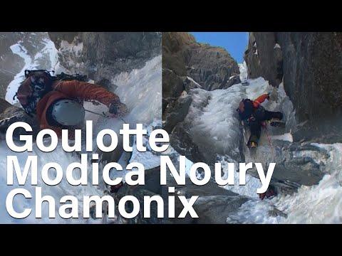 Goulotte Modica Noury Mont-Blanc du Tacul Chamonix montagne alpinisme