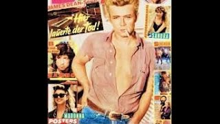 James Dean - Magazine Cover Tribute - by Oldies but Goodies