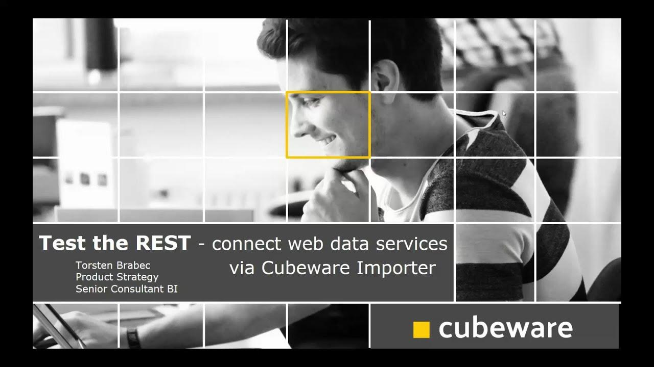 Test the REST – Web data services mit Importer anbinden