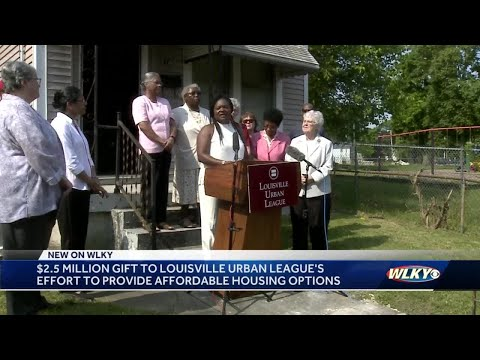 LUL gets $2.5 million gift to create more affordable housing