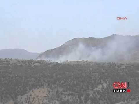 Hakkari Dağlıca'da 8 Şehit. Sınırı aşan 300 terörist Karakola saldırdı.
