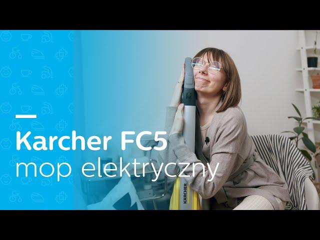 MYJE I ODKURZA?🧹 I TEST I Mop elektryczny Karcher FC 5 I NAPRAWDĘ MUSISZ GO MIEĆ!😃