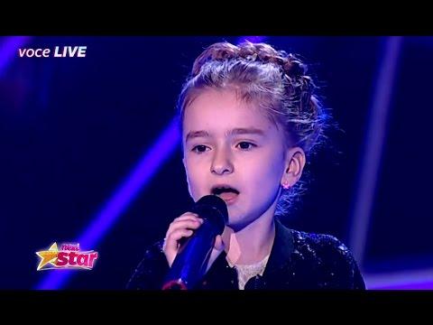 """Andra - """"Floare de nu ma uita"""". Andreea Dinu la Next Star!"""