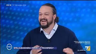 """L'attacco di Matteo Ricci: """"Bonaccini batte Borgonzoni 8 a 2, non la voterebbe nemmeno Fabbri"""""""