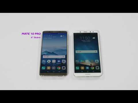 Nya Huawei Mate 10 Pro och Lite