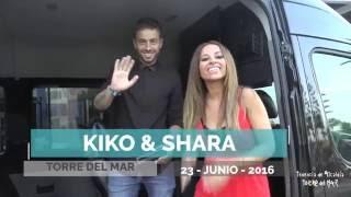 Kiko y Shara en Torre del Mar