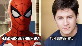 Characters and Voice Actors - Marvel's Spider-Man (PS4)