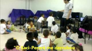 Crianças conversando com o PC