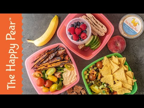 Healthy Lunchbox Ideas 3 Ways | THE HAPPY PEAR