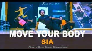 Sia - Move Your Body   Xaviers Dance Studio Choreography   Dance Cover   2018