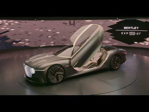 BENTLEY EXP 100 GT CONCEPT CAR REVEAL HIGHLIGHTS | BENTLEY