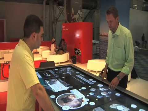 INDABA 2011 – TouchTable Technology
