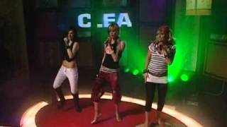 Clea - We Don't Have To Take Our Clothes Off (live performance Top 20 show)