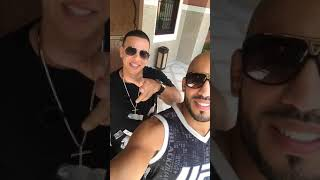 Abu Azaitar Instagram Stories w/ Daddy Yankee