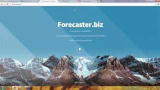 Presentazione del software previsionale FORECASTER