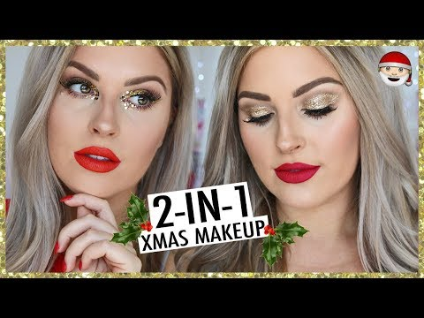 2 in 1 CHRISTMAS GRWM! ?? *Old School* ? Quick, Easy & Simple!