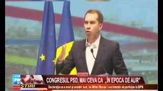 """CONGRESUL PSD, MAI CEVA CA """"ÎN EPOCA DE AUR"""""""