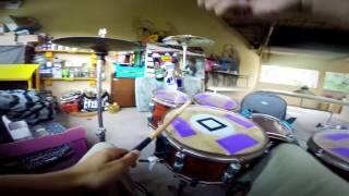 Strike - Céu Completo / Drum cover (Agnaldo Junior)