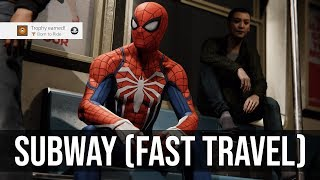 Born to Ride Trophy Tutorial (Ride the Subway) - Marvel's Spider-Man PS4