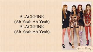 BLACKPINK - DDU-DU DDU-DU (뚜두뚜두) Easy Lyrics