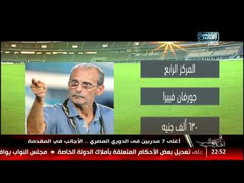 أغلى 7 مدربين في الدوري المصري .. الأجانب في المقدمة