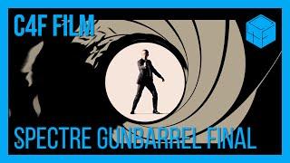 Spectre Gunbarrel Sequence Recreation Final | C4F Film