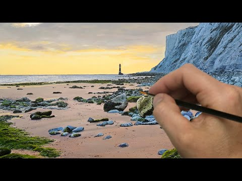 Painting a Lighthouse on a Beach | Episode 198