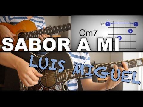 Sabor A Mi Luis Miguel Tutorial Cover - Acordes Chords - Chordify