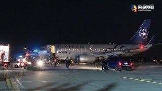 SRI - Exerciţiu antitero al ''şoimilor aerului'' într-un avion aflat în zbor