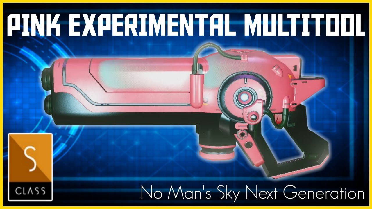 Manic Miners - No Man's Sky Next Generation - Rare S Class Pink Experimental Multitool Location - 2020