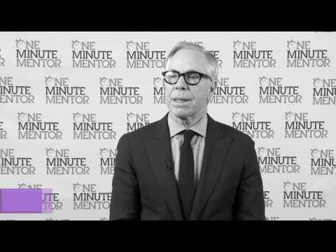 Hearst One Minute Mentor: Tommy Hilfiger on Innovation