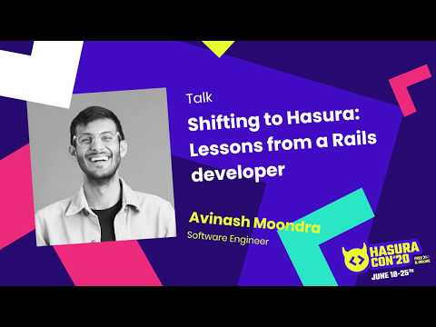 Shifting to Hasura: Lessons from a Rails developer